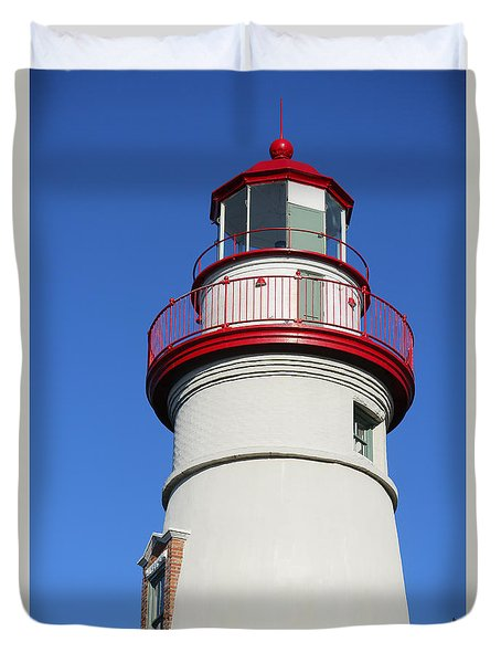 Marblehead Lighthouse Series 1 Duvet Cover