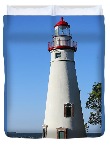 Marblehead Lighthouse Series 2 Duvet Cover