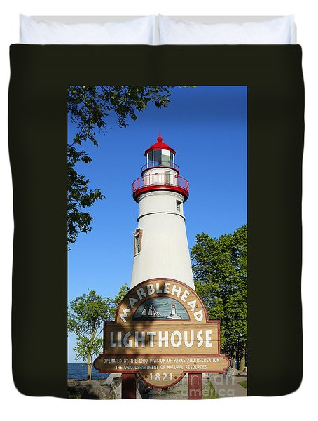 Marblehead Lighthouse Series 4 Duvet Cover