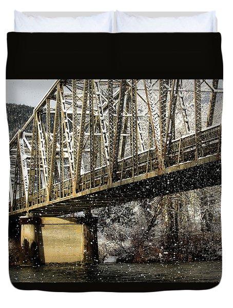 Marblemount Wa Bridge Duvet Cover