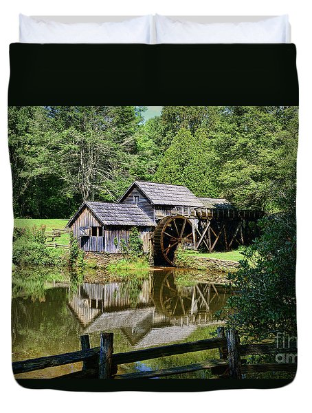 Marby Mill 2 Duvet Cover by Paul Ward