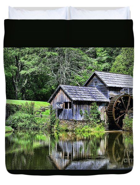 Marby Mill 3 Duvet Cover by Paul Ward