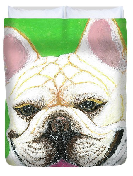 Marcel French Bulldog Duvet Cover