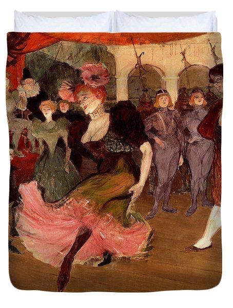 Marcelle Lender Dancing The Bolero In Chilperic Duvet Cover