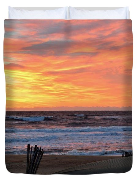 March 23 Sunrise  Duvet Cover