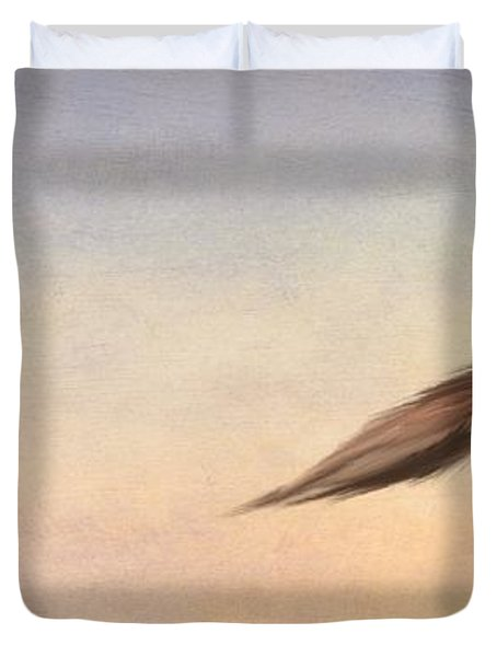 March Hare Duvet Cover