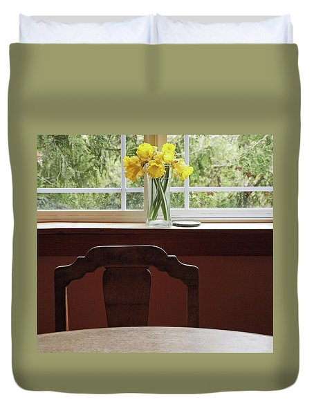 March Duvet Cover by Laurie Stewart