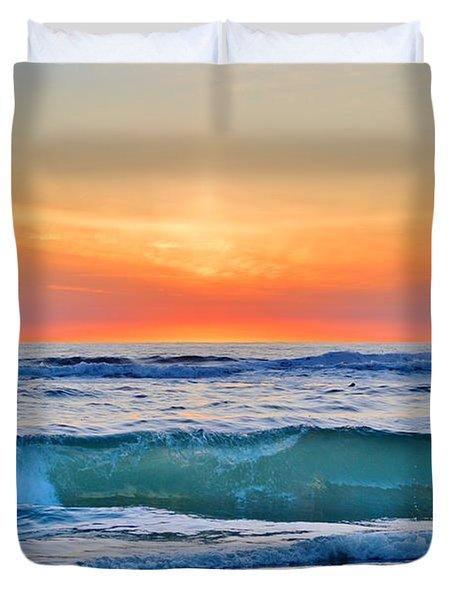 March Sunrise 3/6/17 Duvet Cover