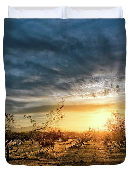 March Sunrise Duvet Cover