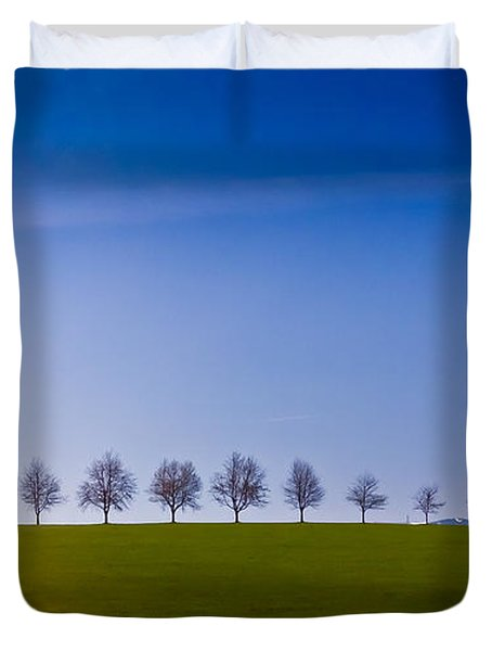 March To The Forest Duvet Cover