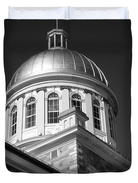 Marche Bonsecours  Duvet Cover by Juergen Weiss