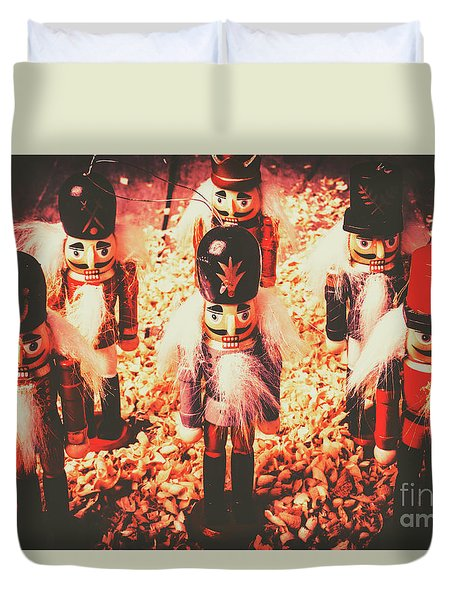 Marching In Tradition Duvet Cover