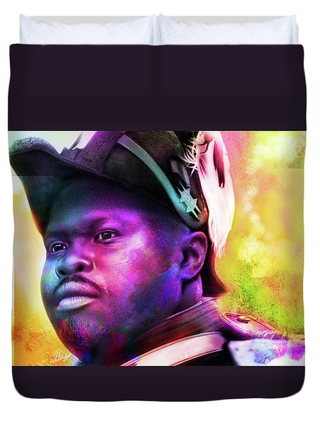 Marcus Garvey Duvet Cover