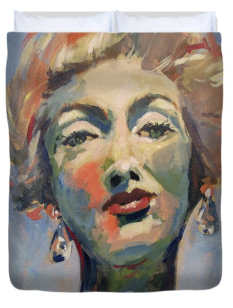 Marella Agnelli Duvet Cover