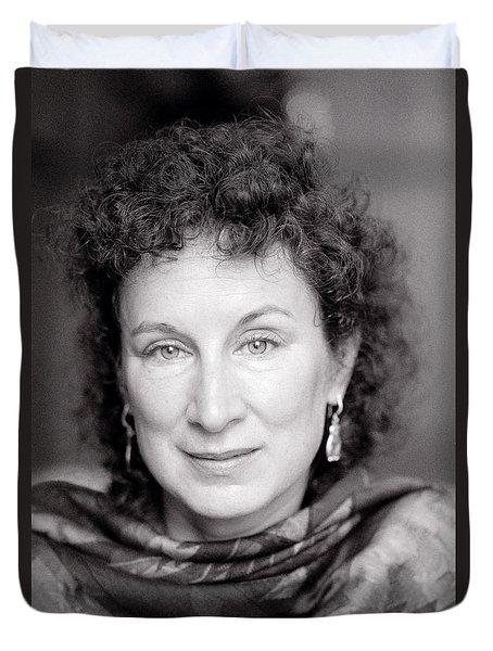 Margaret Atwood Duvet Cover