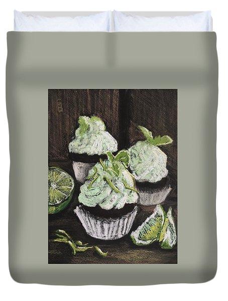 Margarita Cupcakes Duvet Cover