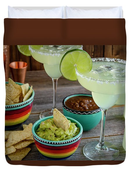Margarita Party Duvet Cover