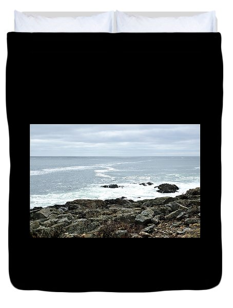 Marginal Way Ogunquit Maine Duvet Cover