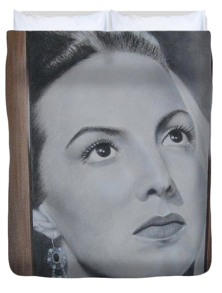 Maria Bonita Duvet Cover by Lynet McDonald