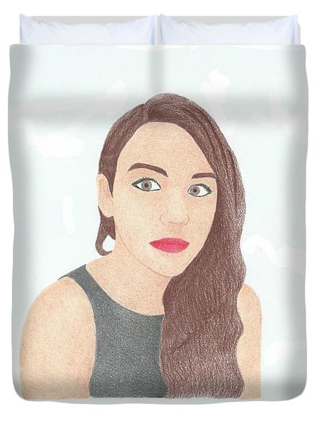 Mariand Castrejon - Yuya Duvet Cover