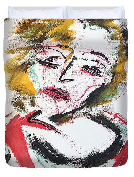 Marilyn Abstract Duvet Cover