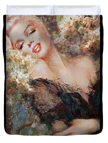 Marilyn Cherry Blossom Duvet Cover