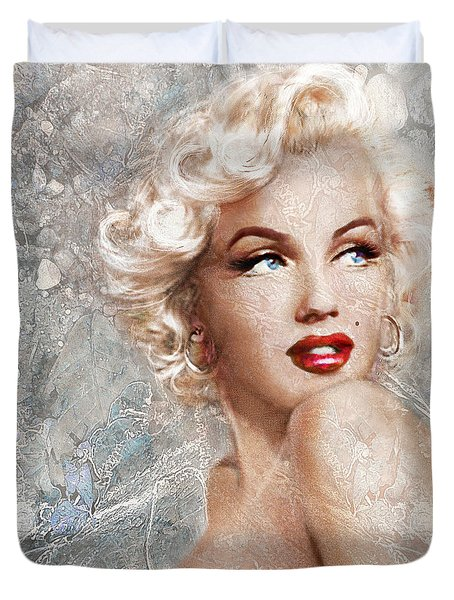 Marilyn Danella Ice Duvet Cover