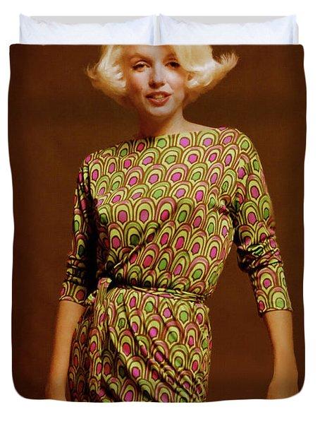 Marilyn Monroe 10 Duvet Cover