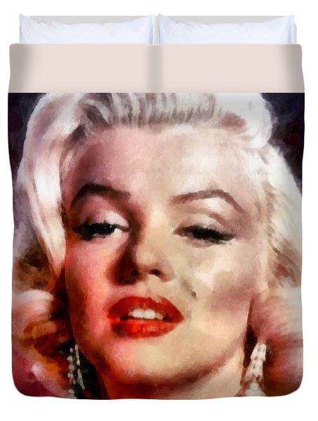 Marilyn Monroe 12 Duvet Cover