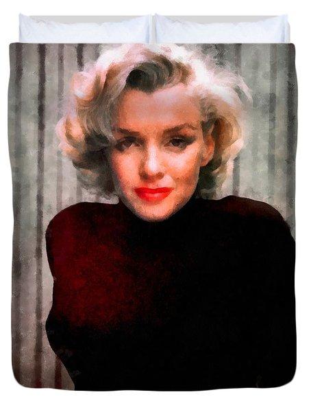 Marilyn Monroe 21 Duvet Cover