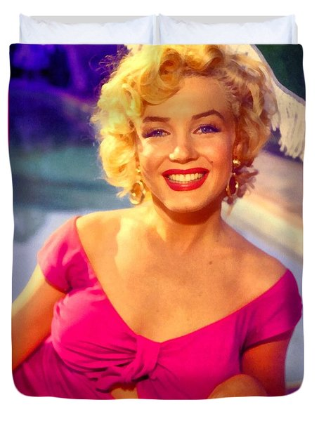 Marilyn Monroe 22 Duvet Cover