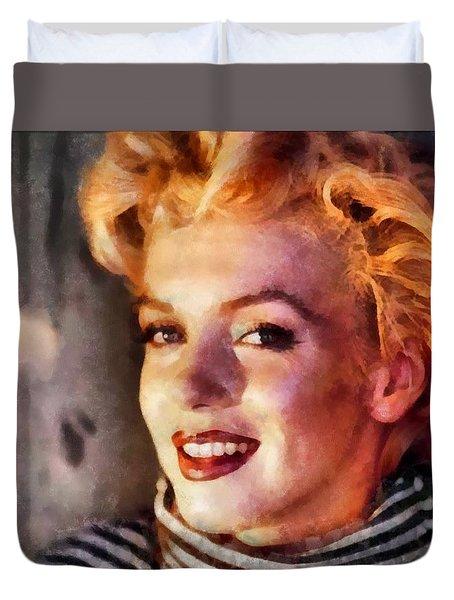 Marilyn Monroe 23 Duvet Cover
