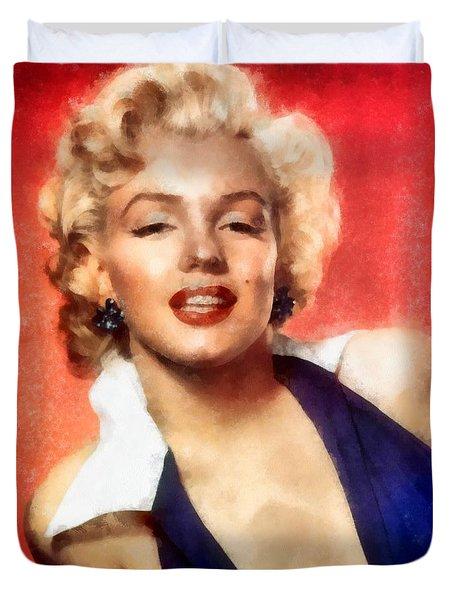 Marilyn Monroe 25 Duvet Cover