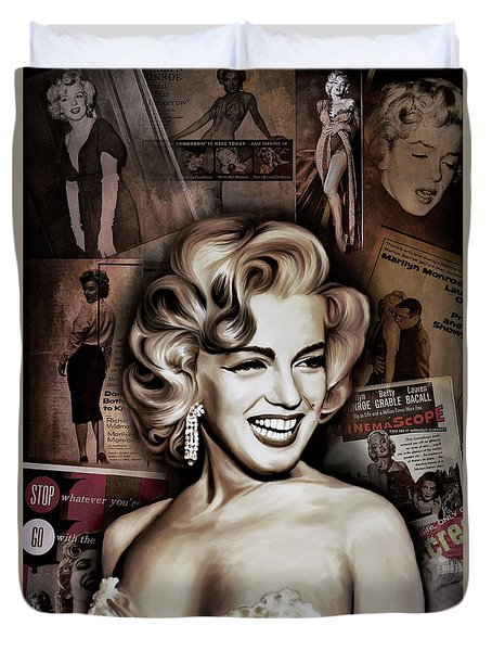 Marilyn Monroe 4  Duvet Cover