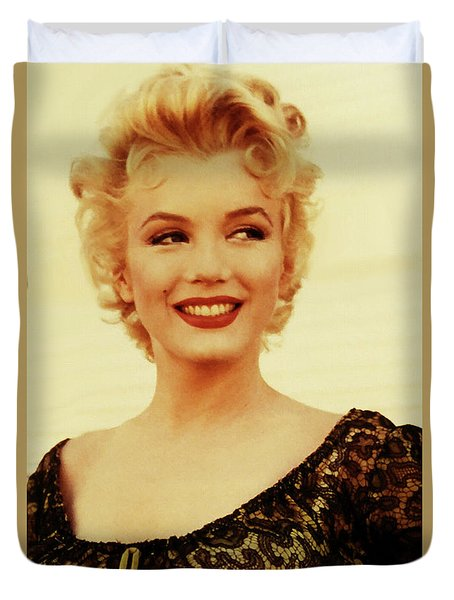 Marilyn Monroe 4 Duvet Cover