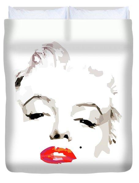 Marilyn Monroe Minimalist Duvet Cover