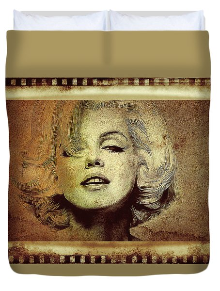 Marilyn Monroe Star Duvet Cover