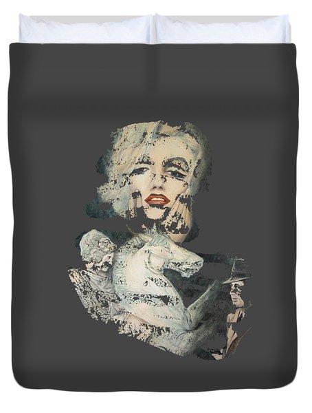 Marilyn Und Die Eifersucht Duvet Cover