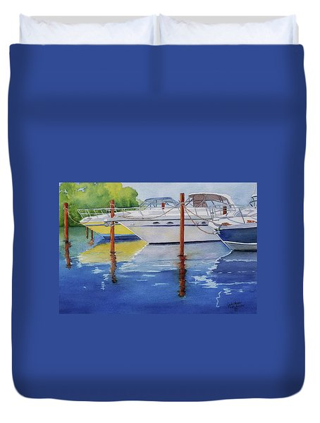 Marina Afternoon Duvet Cover