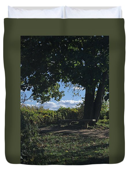 Marina Point Landing Duvet Cover