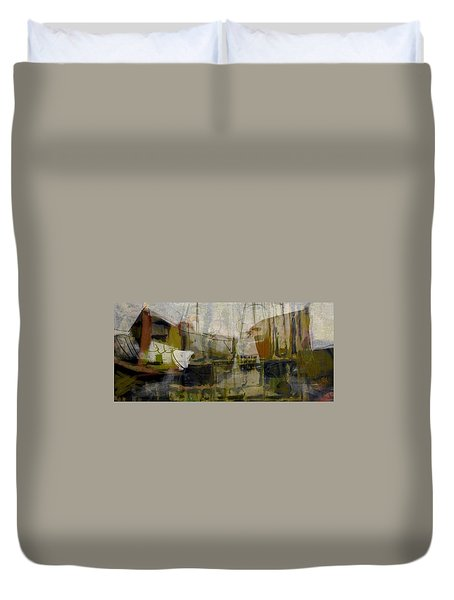 Marina Shapes II Duvet Cover