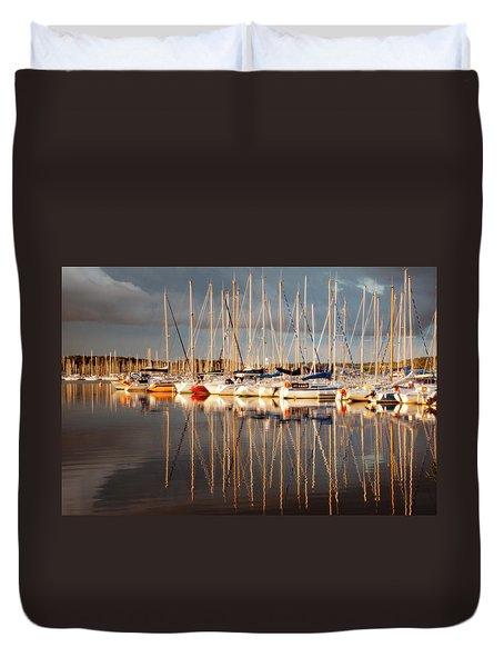 Marina Sunset 6 Duvet Cover