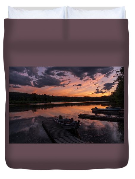 Marina Sunset IIi Duvet Cover