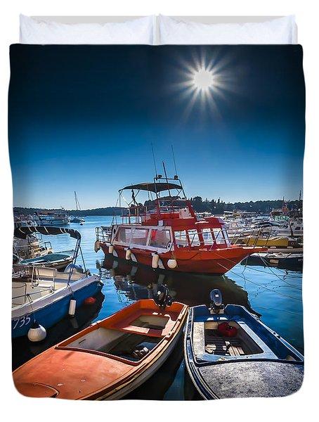 Marina Under The Sun Duvet Cover