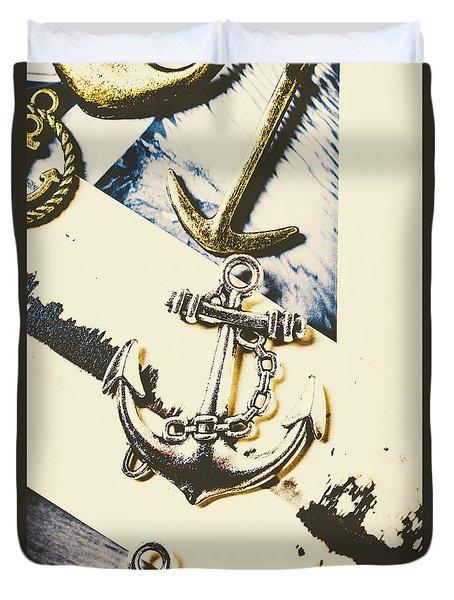 Marine Insignia Duvet Cover