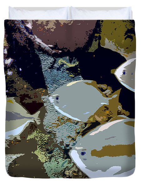 Marine Life Duvet Cover by David Lee Thompson