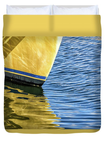Maritime Reflections Duvet Cover