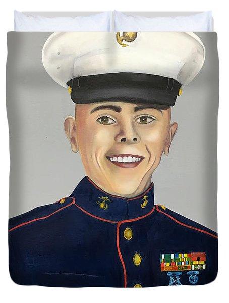 Marine Sergeant  Duvet Cover