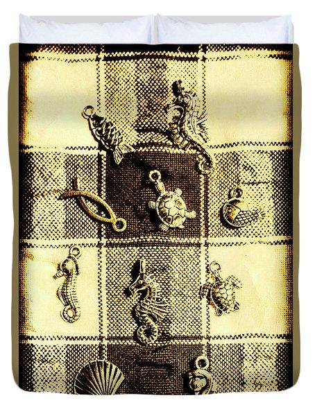 Marine Theme Duvet Cover