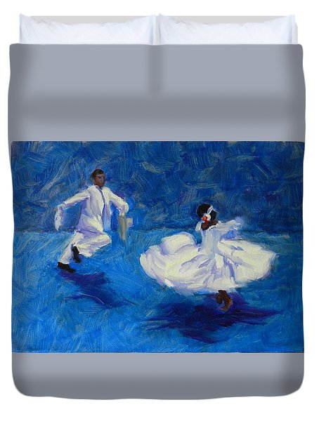 Marinera Nortenia Blue Duvet Cover